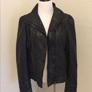Ted Baker Designer Leather Jacket